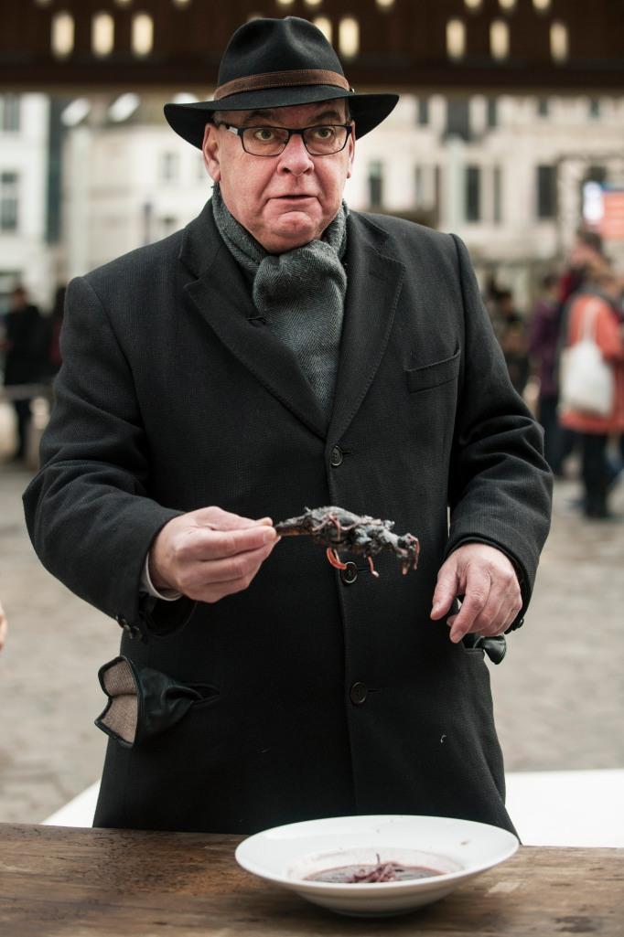 Termont eet Canadese gans op 'Atelier de stad'